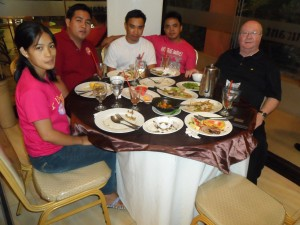 Dinner with the deacons (1)