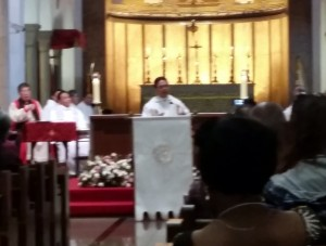 EAM Convocation Fr. Fred preaching at opening HE