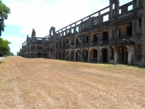 Corregidor topside mile long barracks