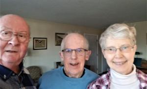 Ed, Ray, Nancy