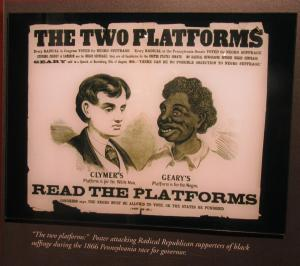 Radical Republican support of Black suffrage 1866