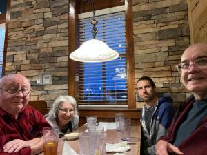 Sherry, Dennis, Aaron, Ed