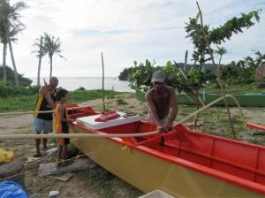 Sunrise beach Sabong village (1)