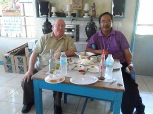 Lunch with Bishop Alex