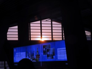 Sunrise at Manila airport