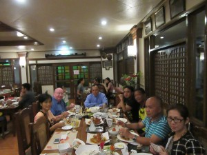 Dinner with clergy (1)