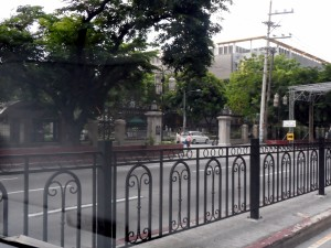 Manila Santo Tomas College, site of WW II Japanese prison camp