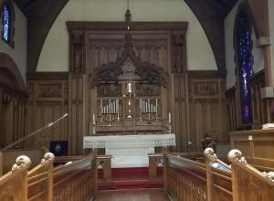 Ascension church altar