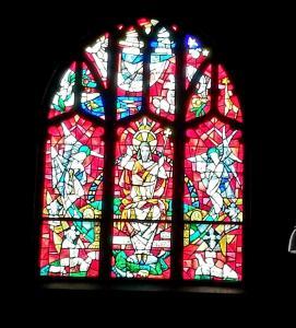 Ascension church window