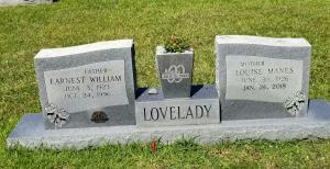 Earnest Louise grave