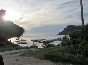 Sunrise beach Sabong village (2)